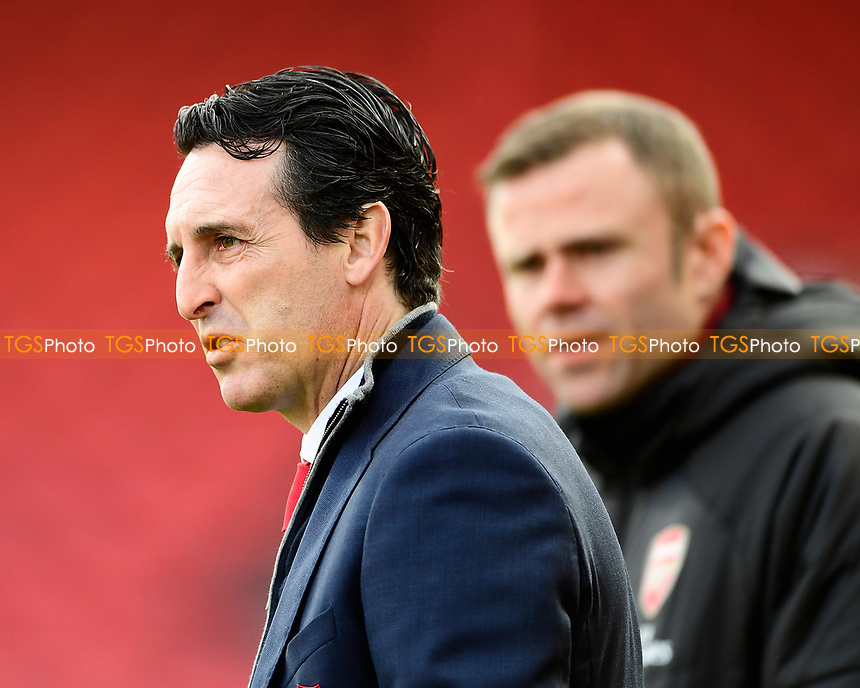 Arsenal Manager Unai Emery during AFC Bournemouth vs Arsenal, Premier League Football at the Vitality Stadium on 25th November 2018