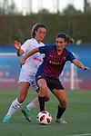 FC Barcelona vs Montpellier HSC: 1-2.<br /> Linda Sembrant vs Mariona Caldentey.