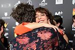 Belen Cuesta and Javier Calvo at Feroz Awards 2017 in Madrid, Spain. January 23, 2017. (ALTERPHOTOS/BorjaB.Hojas)