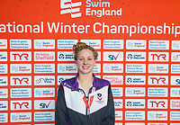 Picture by Allan McKenzie/SWpix.com - 13/12/2017 - Swimming - Swim England Winter Championships - Ponds Forge International Sport Centre - Sheffield, England - Beth Aitchison takes Bronze in the women's 50m breaststroke.