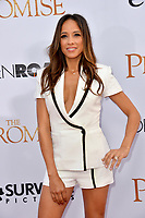 Dania Ramirez at the premiere for &quot;The Promise&quot; at the TCL Chinese Theatre, Hollywood. Los Angeles, USA 12 April  2017<br /> Picture: Paul Smith/Featureflash/SilverHub 0208 004 5359 sales@silverhubmedia.com