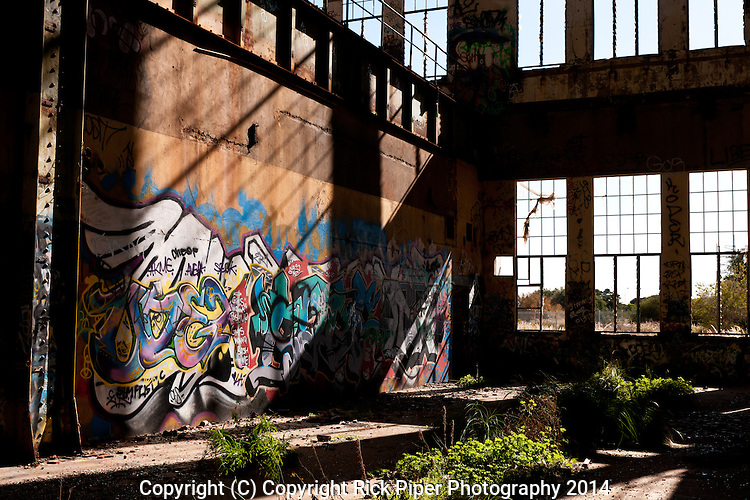 Abandoned Power Station 04 - The abandoned South Fremantle Power Station, North Coogee, Perth, Western Australia.