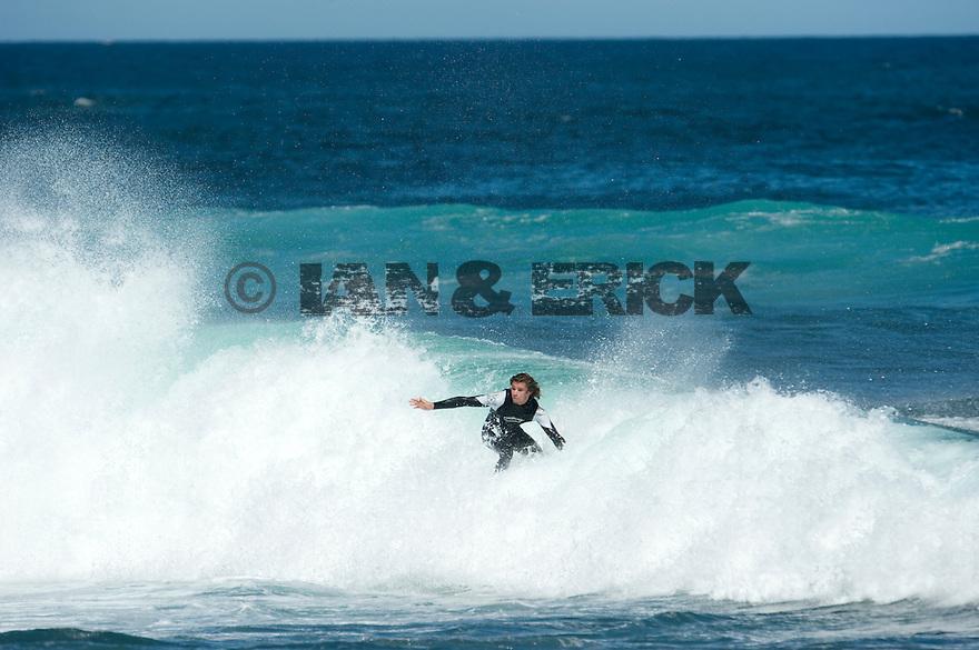Matt Meola at Gallows in Injidup in Western Australia.