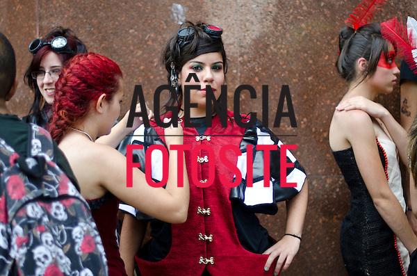 Foto: Marcelo Soubhia/ Ag Fotosite<br /> 3&ordf; Fashion Mob<br /> SP 12/12/2011
