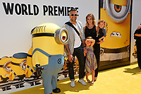 Jamie Camil, Heidi Balvanera, Elena Camil &amp; Jaime III Camil at the world premiere for &quot;Despicable Me 3&quot; at the Shrine Auditorium, Los Angeles, USA 24 June  2017<br /> Picture: Paul Smith/Featureflash/SilverHub 0208 004 5359 sales@silverhubmedia.com
