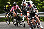 Race leader Maglia Rosa Simon Yates (GBR) Mitchelton-Scott in action during Stage 15 of the 2018 Giro d'Italia, running 156km from Tolmezzo to Sappada, Italy. 20th May 2018.<br /> Picture: LaPresse/Fabio Ferrari | Cyclefile<br /> <br /> <br /> All photos usage must carry mandatory copyright credit (&copy; Cyclefile | LaPresse/Fabio Ferrari)
