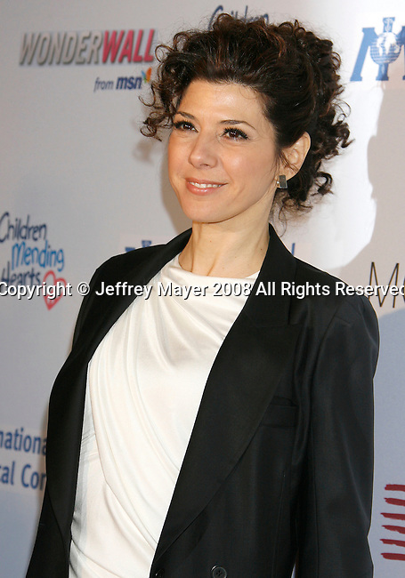 WEST HOLLYWOOD, CA. - February 18: Actress Marisa Tomei arrives at the Children Mending Hearts Gala at the House Of Blues on February 18, 2009 in Los Angeles, California.