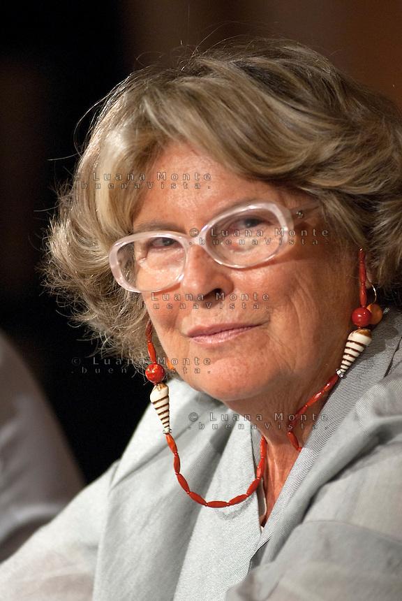 Sandra Bonsanti, membro del consiglio di presidenza di Libert&agrave; e Giustizia. Milano, 3 ottobre 2011<br /> <br /> Sandra Bonsanti, member of Libert&agrave; e Giustizia movement. Milan, October 3, 2011