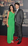 Freida Pinto and James Franco at the Rise Of The Planet Of The Apes premiere held at Grauman's Chinese Theatre Los Angeles, Ca. July 28, 2011. @Fitzroy Barrett