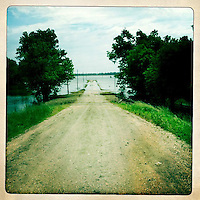 A field is flooded near Birds Point Levee in Mississippi County, Mo., on May 21, 2011.