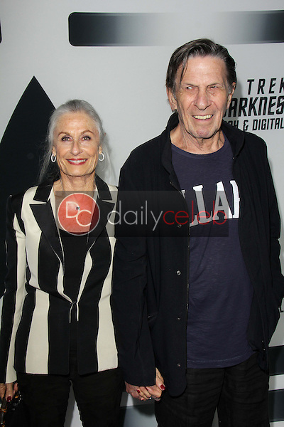 Leonard Nimoy and wife Susan<br />