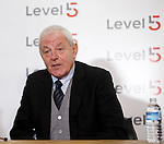 Walter Smith at the launch of Level5 PR in Glasgow