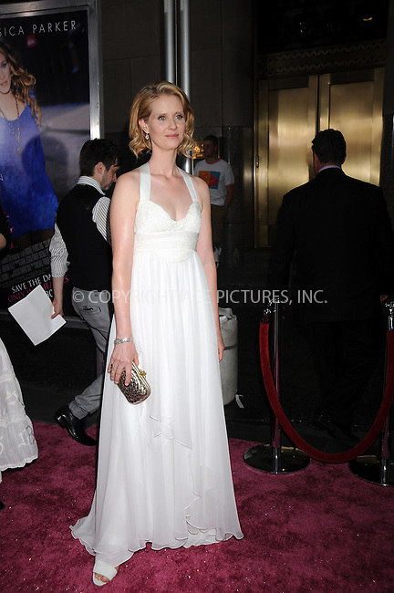 WWW.ACEPIXS.COM . . . . . ....May 27 2008, New York City....Actress Cynthia Nixon arriving at the US premiere of 'Sex and The City - The Movie' at Radio City in midtown Manhattan......Please byline: KRISTIN CALLAHAN - ACEPIXS.COM.. . . . . . ..Ace Pictures, Inc:  ..(646) 769 0430..e-mail: info@acepixs.com..web: http://www.acepixs.com
