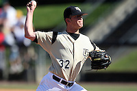 March 7, 2010:  Pitcher Bryan Brown of the Central Florida Knights during game at Jay Bergman Field in Orlando, FL.  Central Florida lost to Central Michigan by the score of 7-4.  Photo By Mike Janes/Four Seam Images