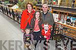 Gerard, Audrey, Clodagh, Eanna and Emir Kearney from Killarney at the Killarney Outlet Centre Halloween Fancy Dress Parade last Sunday.