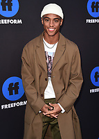 HOLLYWOOD, CA - JANUARY 18:  Keith Powers at the Freeform Summit at NeueHouse on January 18, 2018 in Hollywood, California. (Photo by Scott Kirkland/PictureGroup)