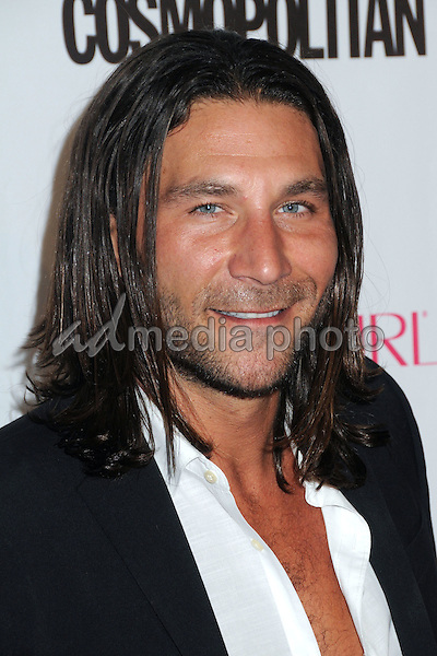 12 October 2015 - Hollywood, California - Zach McGowan. Cosmopolitan 50th Birthday Celebration held at Ysabel. Photo Credit: Byron Purvis/AdMedia