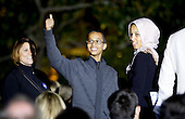 Student Ahmed Mohamed (C) of Irving, Texas poses with family members during the second  White House Astronomy Night attended by students, teachers, scientists, astronauts and others  in the South Lawn of the White House in Washington, DC on October 19, 2015. Mohamed was arrested for bringing a homemade clock to school earlier this month. <br /> Credit: Aude Guerrucci / Pool via CNP