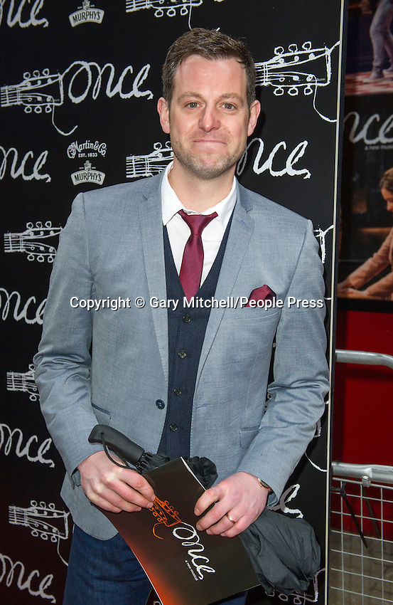 LONDON, The press night for new musical 'Once' at Phoenix Theatre on April 9, 2013 in London, England..Photo by Gary Mitchell.