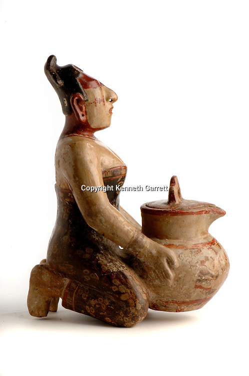 Maya rise and Fall; Princeton Museum; Ancient Cultures; Maya; Mayan; Cacao, Vessel