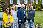Ellen Coyne and Justine McCarthy, (The Times Ireland) and Bertie Ahern and Lise Hand, The Times at the Women in Media event, in Ballybunion on Sunday last.