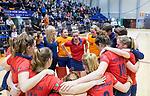 ROTTERDAM  - NK Zaalhockey . finale dames hoofdklasse: hdm-Laren 2-1. hdm landskampioen. teleurstelling bij Laren.      COPYRIGHT KOEN SUYK