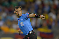Chicago, IL - Wednesday June 22, 2016: Joel Aguilar during a Copa America Centenario semifinal match between Colombia (COL) and Chile (CHI) at Soldier Field.