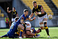 Connor McLead of Otago in action during the Mitre 10 Cup - Wellington  v Otago at Westpac Stadium, Wellington, New Zealand on Sunday 15 September 2019. <br /> Photo by Masanori Udagawa <br /> www.photowellington.photoshelter.com
