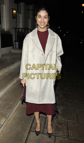 LONDON, ENGLAND - JANUARY 06: Caroline Issa attends the Tommy Hilfiger & Jonathan Newhouse dinner, London Collections: Men's ( LCM ) a/w 2014 season, 34 restaurant, Grosvenor Square, on Monday January 06, 2014 in London, England, UK.