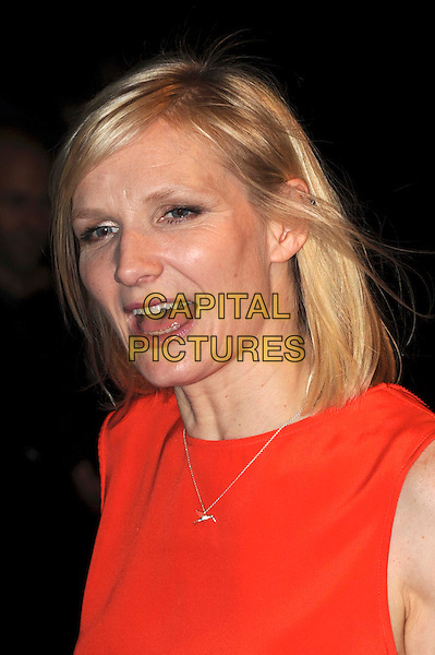 """JO WHILEY.The World Premiere of """"Nanny McPhee & The Big Bang"""", Odeon West End, London, England, UK..24th March 2010.arrivals portrait headshot red mouth open necklace .CAP/IA.©Ian Allis/Capital Pictures."""