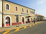 Railway train station building, Ronda, Malaga province, Spain