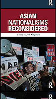 Book Cover for book on Asian Nationalism by Jeff Kingston