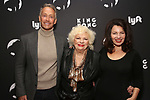 """Peter Marc Jacobson, Renee Taylor and Fran Drescher attends the Broadway Opening Night of """"King Kong - Alive On Broadway"""" at the Broadway Theater on November 8, 2018 in New York City."""