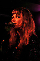 LONDON, ENGLAND - NOVEMBER 13: Nicole Atkins performing at Sebright Arms on November 13, 2017 in London, England.<br /> CAP/MAR<br /> &copy;MAR/Capital Pictures