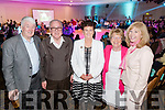 Pictured at the Kerins O'Rahillys Strictly Come Dancing, held at the Brandon Hotel, Tralee on Saturday night last, were l-r: Joe O'Brien with Denis and Sheila O'Sullivan, Anne O'Brien and Sandra Masterson.