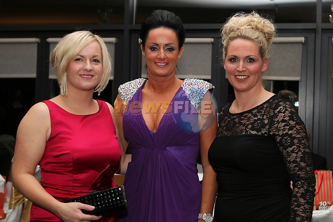 Deirdre O'Shaughnessy, Cork Independent, Irene Twohig, Cheswich Clinic and Natasha Lynch, Essential French at the Network Ireland National Conference and Business Women of the Year Awards 2012 - Friday 28th September in Drogheda, Co. Louth..Photo NEWSFILE/Jenny Matthews.