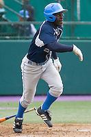 April 27, 2008: UCLA's Jermaine Curtis at bat against the University of Washington at Husky Ballpark in Seattle, Washington.