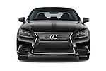 Car photography straight front view of a 2015 Lexus LS 460 4 Door Sedan