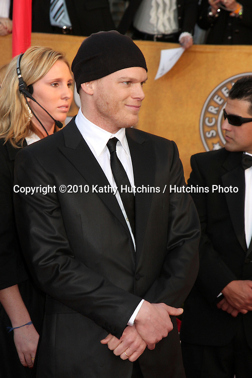 Michael C. Hall.arriving at the 2010 Screen Actor's Guild Awards.Shrine Auditorium.Los Angeles, CA.January 23, 2010.©2010 Kathy Hutchins / Hutchins Photo....