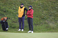 Amelia Garvey (NZL) on the 8th during the Matchplay Final of the Women's Amateur Championship at Royal County Down Golf Club in Newcastle Co. Down on Saturday 15th June 2019.<br /> Picture:  Thos Caffrey / www.golffile.ie