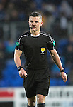 St Johnstone v Hamilton Accies…28.01.17     SPFL    McDiarmid Park<br />Referee Nick Walsh<br />Picture by Graeme Hart.<br />Copyright Perthshire Picture Agency<br />Tel: 01738 623350  Mobile: 07990 594431