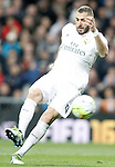 Real Madrid's Karim Benzema during La Liga match. March 20,2016. (ALTERPHOTOS/Acero)