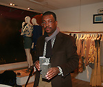 Intrigue Designs Founder Denis Dambreville Attends an exclusive elegant evening of fashion and design through Shop for a Cause highlighting art and fashion from local emerging Haitian artisans Hosted by Designer, Tracy Reese, JRT Multimedia, CEO Jocelyn Taylor and BACARDI USA at the Tracy Reese Flagship Store 1/26/11<br />