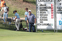 Jose Maria Olazabal (ESP) on the 9th during the second round of the Mutuactivos Open de Espana, Club de Campo Villa de Madrid, Madrid, Madrid, Spain. 04/10/2019.<br /> Picture Hugo Alcalde / Golffile.ie<br /> <br /> All photo usage must carry mandatory copyright credit (© Golffile | Hugo Alcalde)