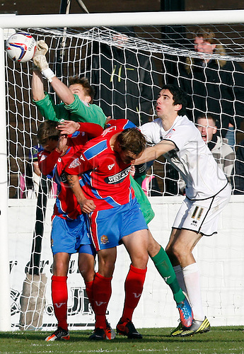 27.10.2012 Dagenham, England: ..Chris Lewington of Dagenham & Redbridge..in action during the League Two match between Dagenham and Redbridge & Aldershot Town from The L.B Barking & Dag Stadium, Victoria Road..