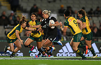 Chelsea Alley in action during the International Women's Rugby match between the New Zealand All Blacks and Australia Wallabies at Eden Park in Auckland, New Zealand on Saturday, 17 August 2019. Photo: Simon Watts / lintottphoto.co.nz