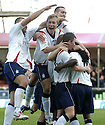 22/09/2007       Copyright Pic: James Stewart.File Name : sct_jspa11_falkirk_v_motherwell.RUSSELL LATAPY IS CONGRATULATED AFTER SCORING FALKIRK'S GOAL....James Stewart Photo Agency 19 Carronlea Drive, Falkirk. FK2 8DN      Vat Reg No. 607 6932 25.Office     : +44 (0)1324 570906     .Mobile   : +44 (0)7721 416997.Fax         : +44 (0)1324 570906.E-mail  :  jim@jspa.co.uk.If you require further information then contact Jim Stewart on any of the numbers above........