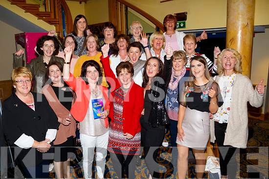 Kerry University Hospital were out in force in the Brandon Hotel Tralee as they supported the Bons Secour SYNC'IT for Sudan on Saturday night.