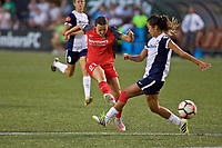 Portland, OR - Saturday July 22, 2017: Hayley Raso during a regular season National Women's Soccer League (NWSL) match between the Portland Thorns FC and the Washington Spirit at Providence Park.