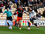 Chris Basham of Sheffield Utd in action with Chris Eagles of Port Vale during the English League One match at Vale Park Stadium, Port Vale. Picture date: April 14th 2017. Pic credit should read: Simon Bellis/Sportimage